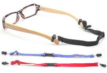 eyewear outdoor sport elastic eyeglass strap band lanyard cords retainer holder with release buckle outdoor protective transparent plastic mask with elastic strap