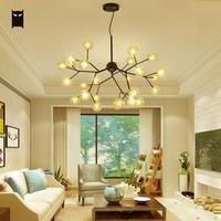 Ясно Стекло пузырь филиал люстра светильник Современный Nordic подвесной потолочный светильник блеск plafon фойе Освещение в гостиную