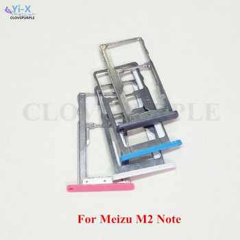 10PCS/Lot Nano SIM Card Slot Tray Holder Adapter for Meizu M2 Note Cellphone Replacement Parts