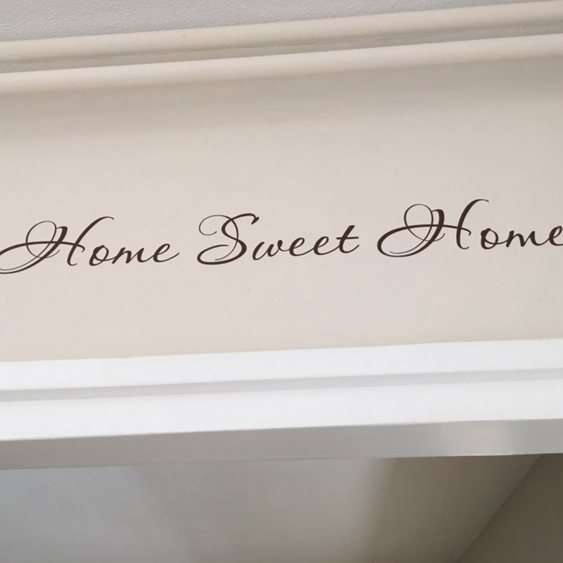 Attractive Aliexpress.com : Buy Sweet Home Quote Wall Stickers Vinyl Lettering Word  For Front Door Or Wall Art Decal Sticker From Reliable Wall Sticker  Suppliers On ... Part 29