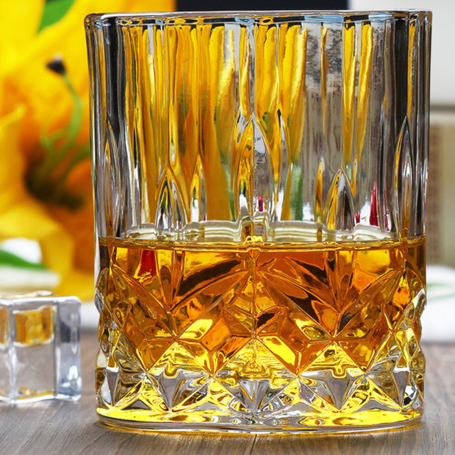 High Capacity Whiskey Glass