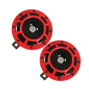 Image 3 - Supertone Dual Car решетка Рог (пара) 12V 139dB для Subaru, автомобильные аксессуары, брелок для автомобиля Subaru WRX Evo Нью бабочки (красный и черный)