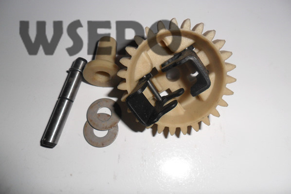 Chongqing Quality! Speed Governor Gear Kit for 152F 2.5HP 97CC Gasoline Engine, 1KW Generator Spare Parts governor drive gear set asy for ey20 rgx2400 generator free postage gear assembly generator adjust gear petrol engine parts