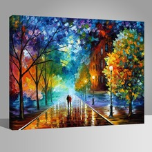 RIHE DIY Painting By Numbers Lovers Umbrella Home Decor Oil On Canvas Modern Wall Art For Living Room Acrylic Paint