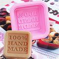 100% Hand Made DIY Silicone Mold Soap Mold Fondant Cake Decorating Tools