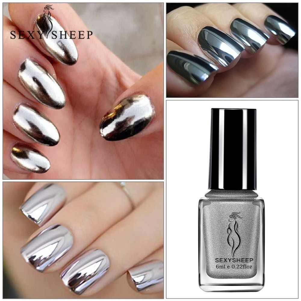 Detail Feedback Questions about 1/2Pcs Mirror Effect Metallic Nail ...