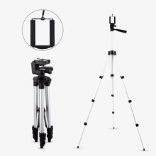 Cheaper Lightweight 4 Sections Portable Mini Tripod Phone Holder For Phone Canon Sony Nikon Gopro Xiaomi Yi Camera Projector Accessories
