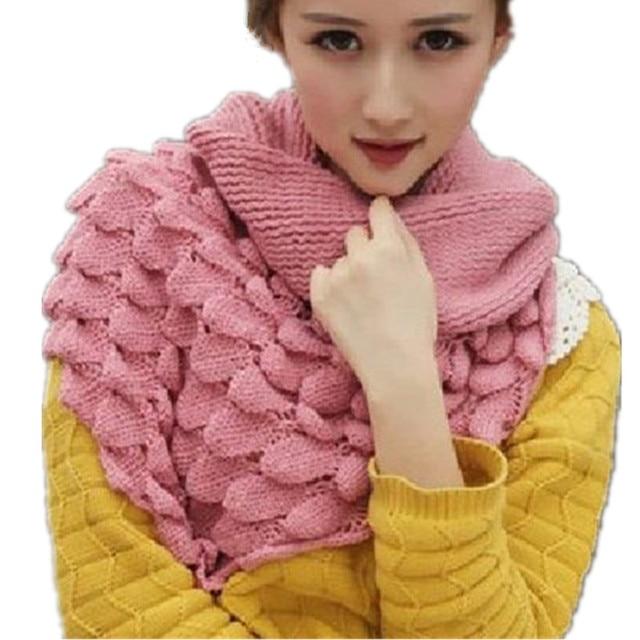 Mooie Bloemen Haak Sjaal Lics Voor Vrouwen Sjaal Kraag Gebreide