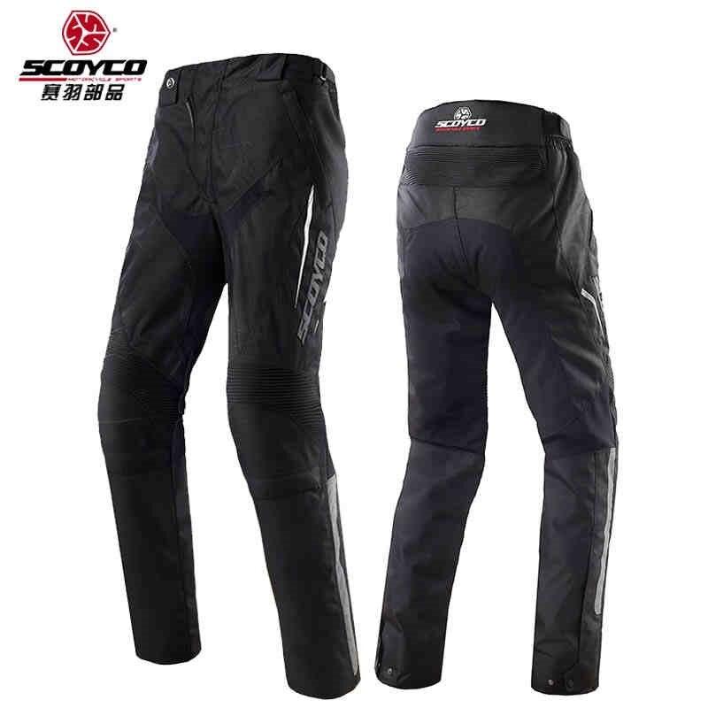 2018 Новый SCOYCO moto rcycle брюки P018 2 мото штаны для гонок светоотражающие мото rbike брюки 600D Оксфорд зимний теплый непродуваемый