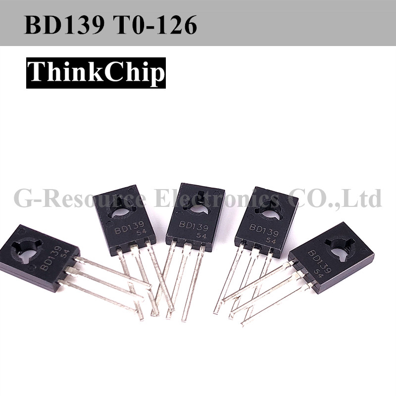 Free Shipping 20 PCS / Lot BD139 TO-126 80 V,1.25 W,1.5 A NPN Power Transistors