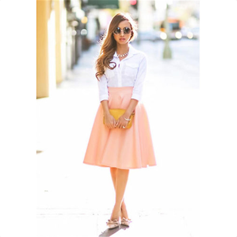Online Buy Wholesale knee length circle skirt from China knee ...