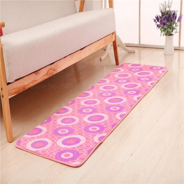 memory foam kitchen mats sinks and faucets 50x160cm carpet pastoral living room fleece fabric bibulous antiskid mat floor outdoor