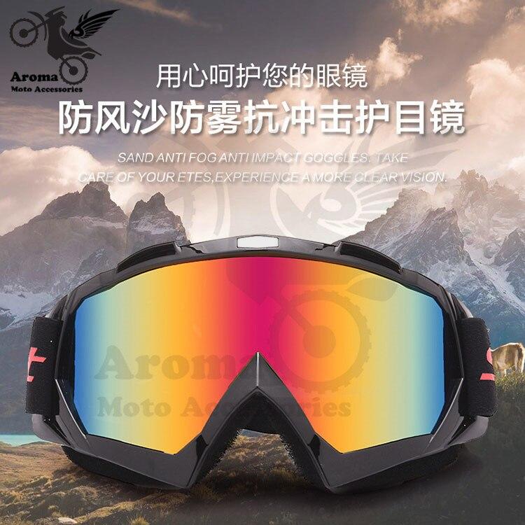 Óculos para motociclismo dirt bike, óculos de