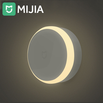 Original Xiaomi Mijia LED Corridor Night Light Infrared Remote Control Body Motion Sensor Smart Home for Mi Home Night Lamp parallel