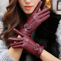 Gloves Mitten Leather Sheep Gloves Female Winter Glove Mittens Tactical Glove Driving Touch Screen Mittens Women Winter Hot sale