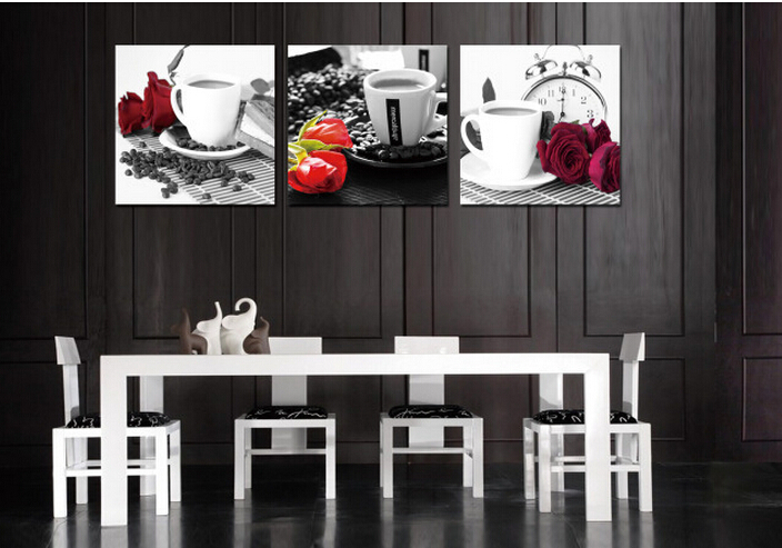 Modern Kitchen Wall Decor Extraordinary Online Get Cheap Flowers Art Pictures Aliexpress  Alibaba Group Decorating Inspiration