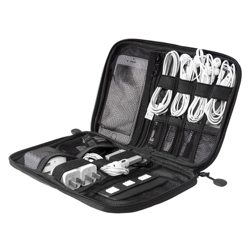 Elektronisk Tillbehör Bag Nylon Travel Bags Förvaringsväska För - Resetillbehör - Foto 2