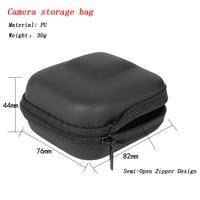 Мини EVA чехол Защитная сумка для GoPro Hero 8 7 6 5 черный серебристый белый Спортивная камера ПУ коробка для хранения Dji Osmo аксессуары для действий 5