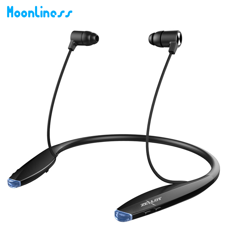 Moonliness H7 Wireless Stereo Bluetooth Headset Music Headphone Sport Bluetooth Earphone Handsfree With Built-in Microphone rock y10 stereo headphone earphone microphone stereo bass wired headset for music computer game with mic