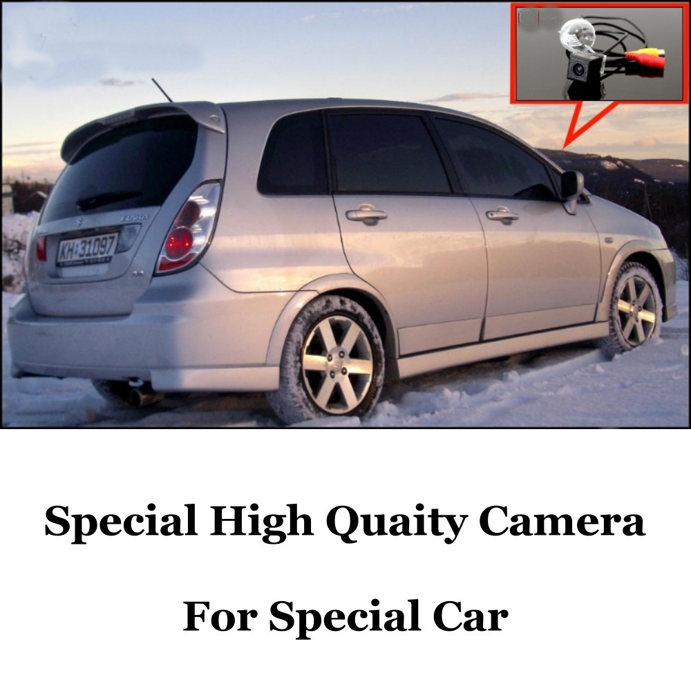 Car Camera For Suzuki Aerio  Liana Hatchback High Quality Rear View Back Up Camera For Fans  CCD + RCA Car