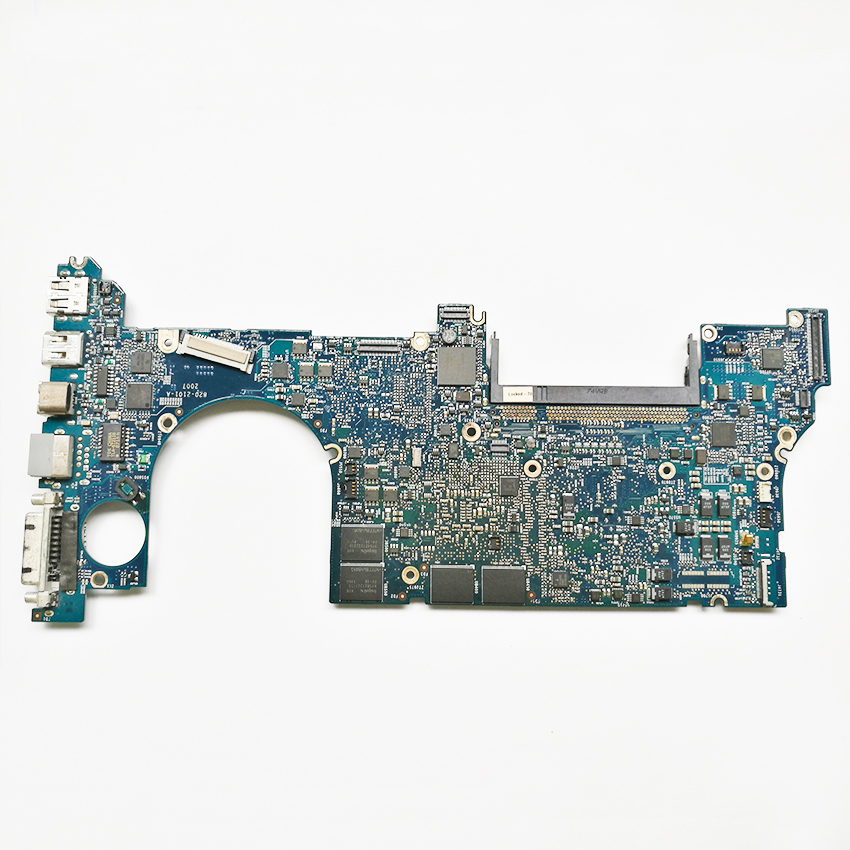 2pcs/lot 661-4956 Motherboard For Apple Macbook Pro A1226 15 820-2101-A T7700 2.4GHz Logic Board Tested Good Working for macbook pro 17 a1229 motherboard logic board 820 2132 a 661 4958 2 4ghz t7700 ma897ll a 2007