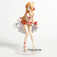 Sword Art Online Asuna Swimsuit Ver. 1/7 Scale PVC Sexy Figure SAO Collectible Model Toy