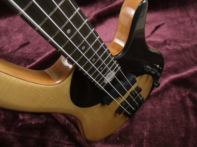 Yin an Yang 5 String Bass guitar with active pickups  5