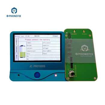 PHONEFIX JC PRO1000S Battery Health Tester Battery Test Tool One Key Clear Cycle For iPhone 5 5S SE 6 6P 6S 6P 7 7P 8 8P X