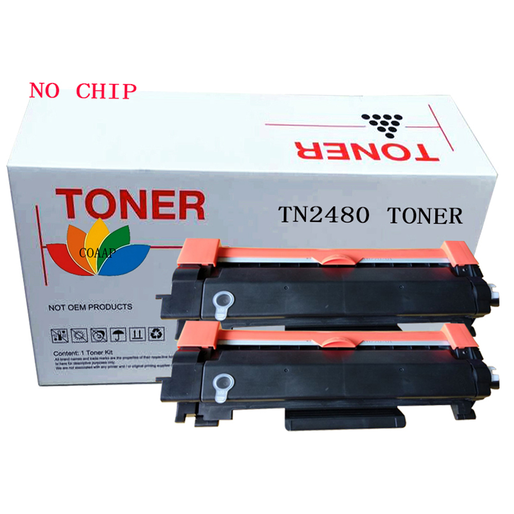 2pk Compatible TN 2480 Toner cartridge for brother DCP-L2535DW DCP-2550DW HL-2375DW MFC-L2715DW MFC-L2750DW Printer2pk Compatible TN 2480 Toner cartridge for brother DCP-L2535DW DCP-2550DW HL-2375DW MFC-L2715DW MFC-L2750DW Printer