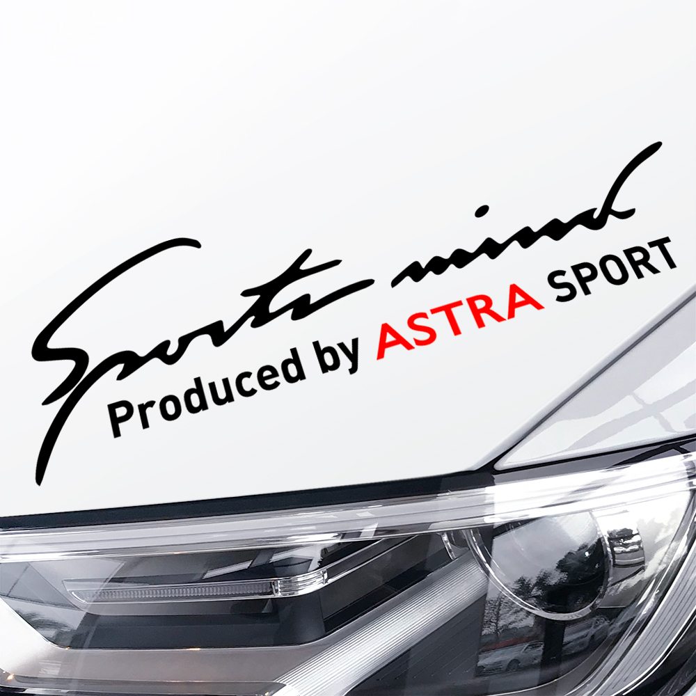 For Opel Astra J H G Car Stickers Lamp Eyebrow Sports Mind Waterproof Auto Body Decals Car Accessories Styling Auto Decoration