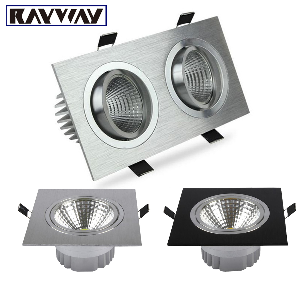 RAYWAY Single/Dual COB Light Source Embedded Square LED ...