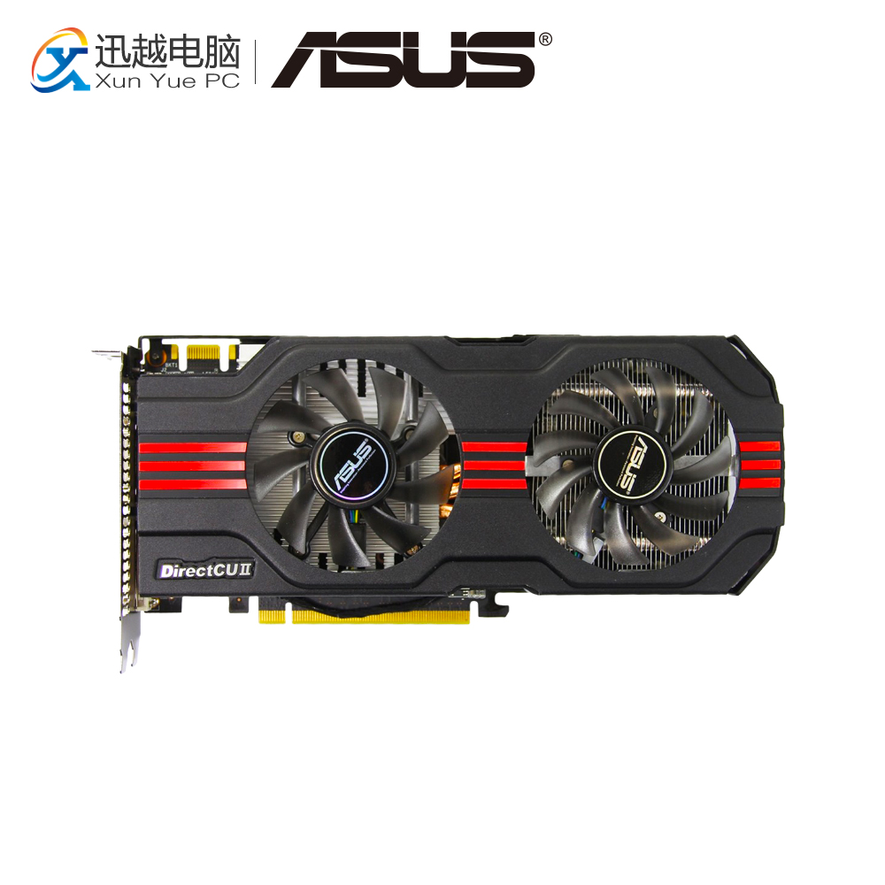цена ASUS ENGTX560 Ti DCII TOP/2DI/1GD5 Original Graphics Cards 256 Bit GTX 560 Ti GDDR5 Video Card DVI Mini HDMI For Nvidia GTX560Ti