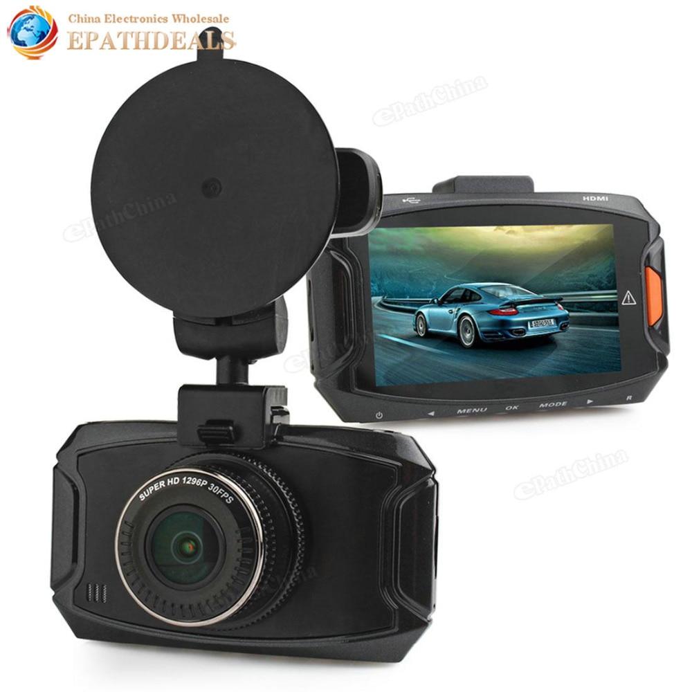 ФОТО 2.7 Inch LCD Full HD 1296P Car DVR Camera Ambarella A7 170 Degree HDMI G-sensor Motion Detection Auto Video Recorder Camcorder