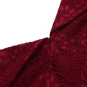 Image 3 - New Sexy Short Evening Dress Lace Wine Red pink A line Party Formal Dress Homecoming Graduation Dresses with sash Robe De Soiree