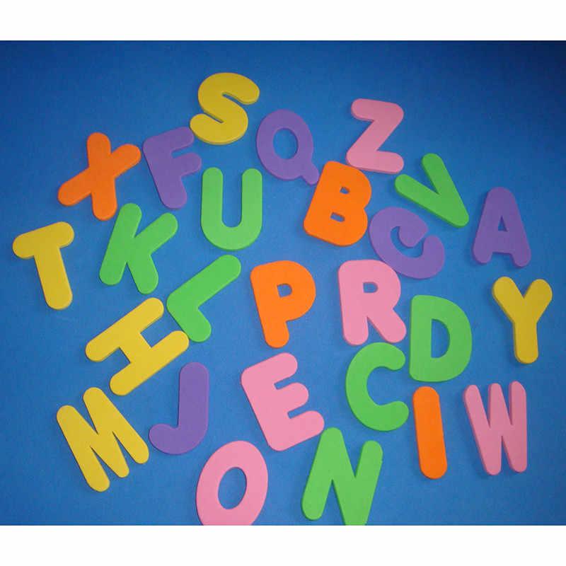 36 pces/se 2019 novo bebê crianças brinquedo educacional espuma letras números flutuante banheira do banheiro brinquedo do miúdo para presentes da menina do menino