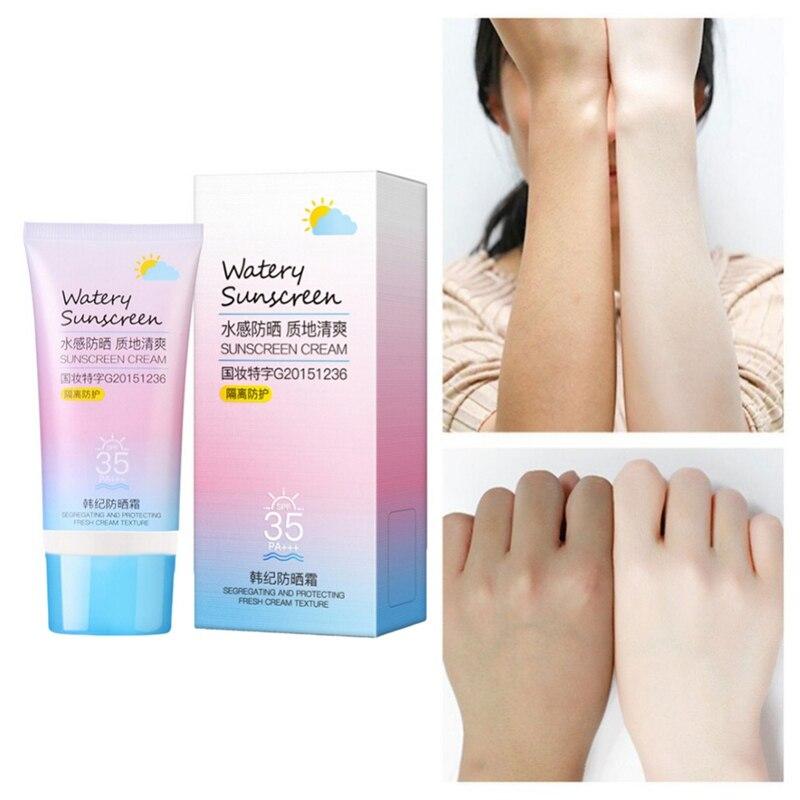 50g Facial Sunscreen Cream SPF 90 Oil Free Radical Scavenger Anti Oxidant UVA/UVB Britening Anti Sun Day Cream