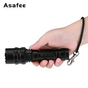 Image 5 - Asafee BC02 led 戦術的な懐中電灯超高輝度の usb 充電式防水スカウトライトトーチ狩猟ライト 5 モード 1*18650