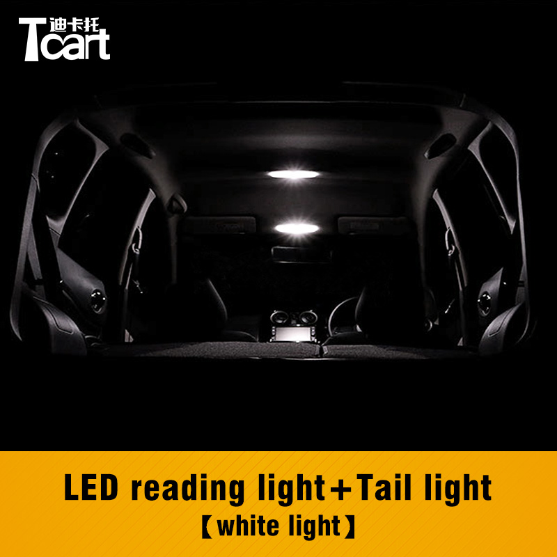 Tcart 3pcs Canbus T10 4014 Auto Led Interior Reading Lamps Car Tail Trunk Light Bulbs For <font><b>Nissan</b></font> Note <font><b>E12</b></font> 2012 2015 2017 image