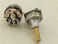 Original new 100% Japan import 12 Type single band switch potentiometer A5K hole connection pin handle 15MMFx3.5MM
