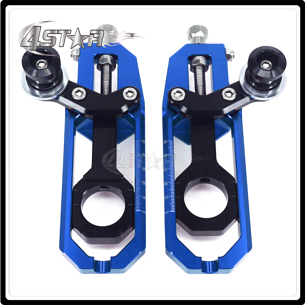 все цены на CNC Chain Adjusters Tensioners With Spool Fit for YAMAHA YZF-R1 YZFR1 YZF R1 2015 15 Motorcycle онлайн