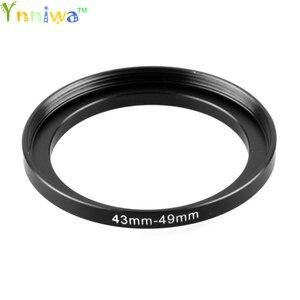 Image 1 - 43 49 mm Metal Step Up Rings Lens Adapter Filter Set