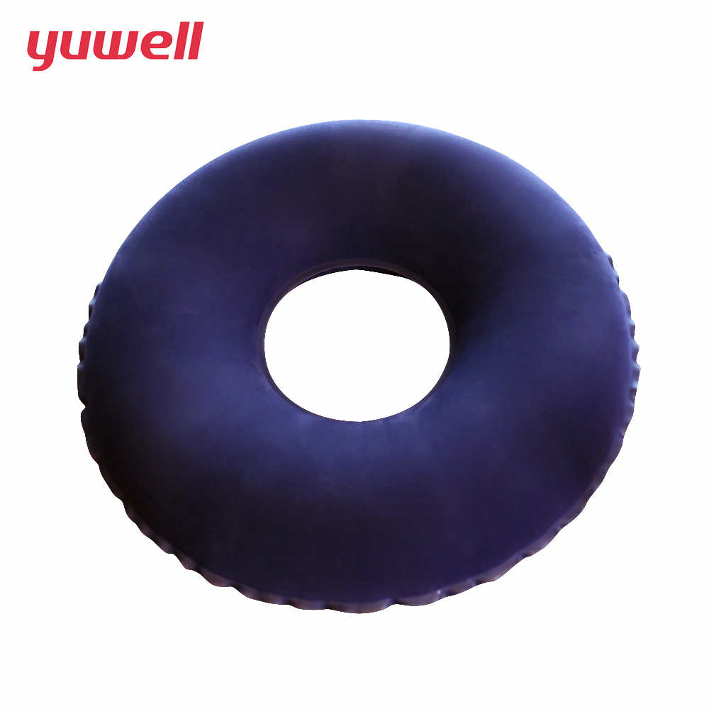 Yuwell Medical Round Hemorrhoids Cushion Health Care Wheelchair Massage Cushion Pillow Ring Donut Seat Large Colourful