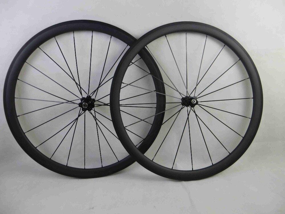 Горячая распродажа 2017 отверстия клинчер колеса углерода 38 мм 23 мм широкий бескамерные колесная дорога колеса велосипеда