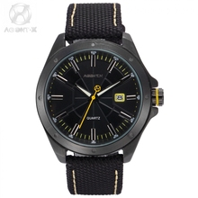 Original Agent X Men Watch Nylon Band Material Complicated Dial Unique Designed Movement Inside official