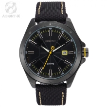 Original Agent X  Men Watch  Nylon Band Material Complicated Dial  Unique Designed  Movement Inside official box/AGX148