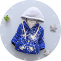 Los bebés de La Manera chaquetas boy Prendas de Abrigo Capa de Los Niños Abrigos de Invierno para Bebés