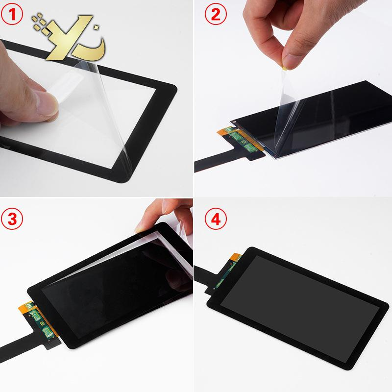 """Glass Protectors for 5.5/"""" LCD 2K LS055R1SX03 Wanhao D7 Light-Curing 3D Printer"""