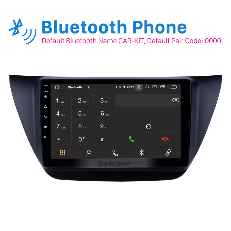 Image 2 - Seicane 9 inch Android 10.0 Car Multimedia player GPS for MITSUBISHI LANCER IX 2006 2007 2010 with WIFI Carplay Bluetooth USBCar Multimedia Player   -