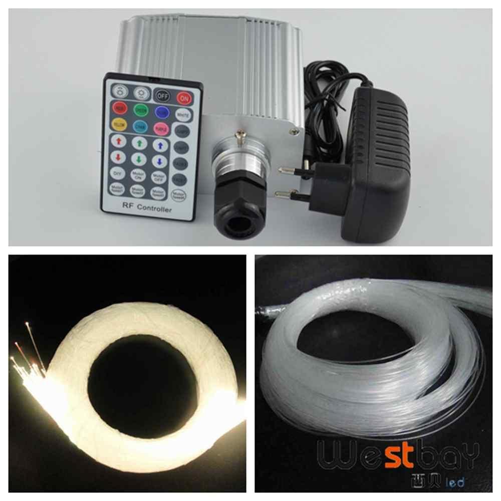Cree chip twinkle RGBW 250pcs 0.75mm 3meter fiber lights+ 10W cree led engine+ 28key remote,DIY fiber lighting home. источник света для авто 10w cree 7 175