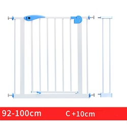 Fast ship! 66~190cm iron Gate Baby Stair Fence Pet Dog Grid Railing Isolating garden gate Height 100cm can add extend fence